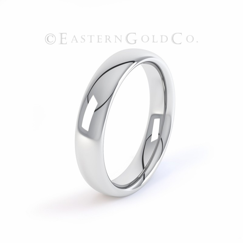 18ct White Gold Wedding Ring