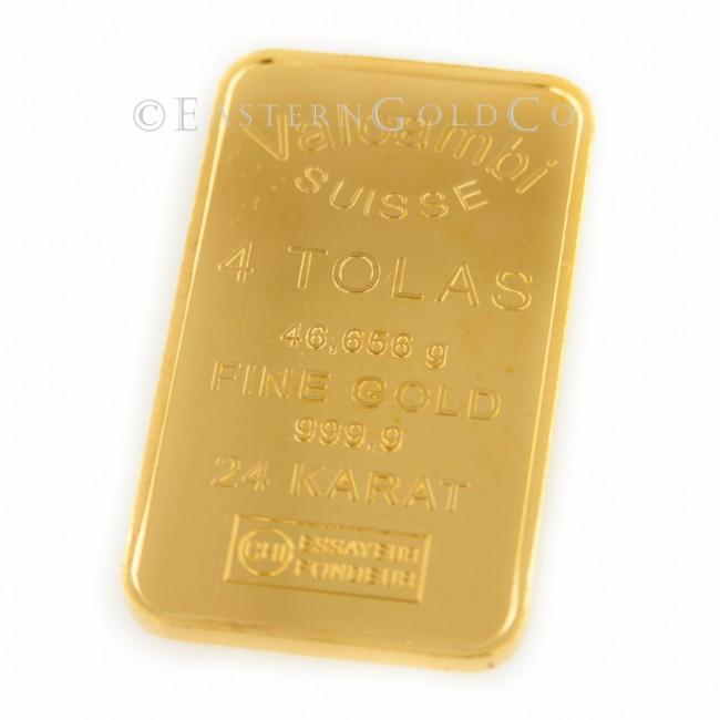 4 Tola Gold Bar