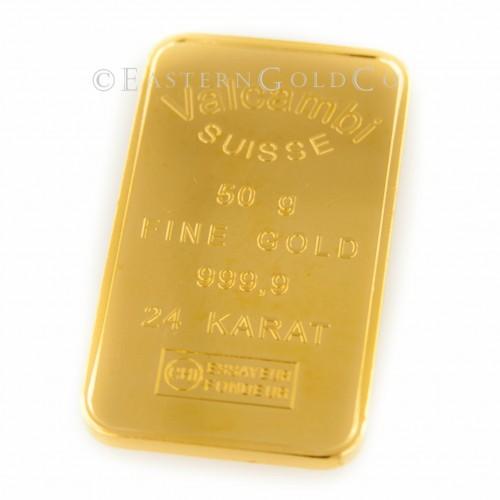50 Gram Gold Bar
