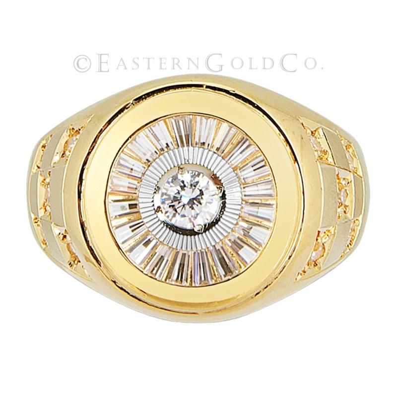 22ct Gold Mens Ring