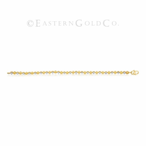 21ct Gold Ladies Wrist Bracelet