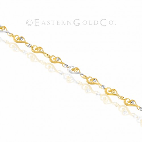 22ct Gold Ladies Wrist Bracelet