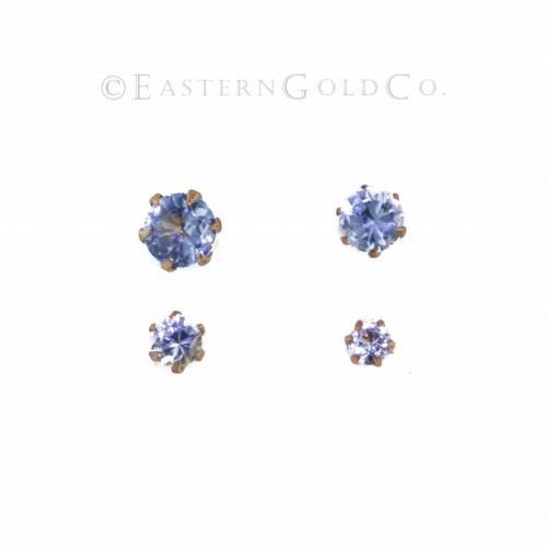 Light Blue Nose Pin