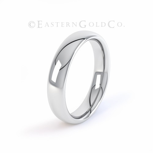 Silver Wedding Ring Mens