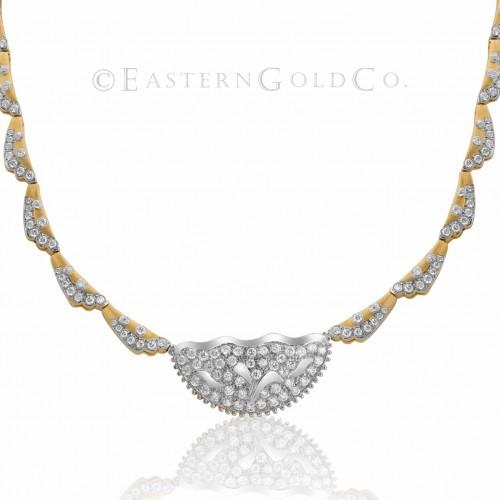 22ct Gold Ladies Necklace set