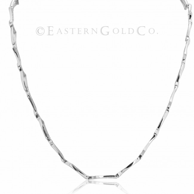 18ct White Gold Necklace Set Cubic Zirconia