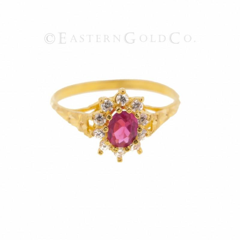22ct Gold Ladies Ring With White Stones Woodlandhideawaypark Co Uk