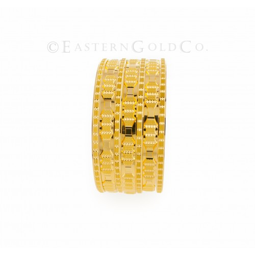 22ct Gold Bangles set,Solid...