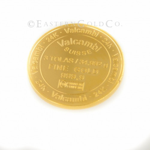 3 Tola Gold Coin