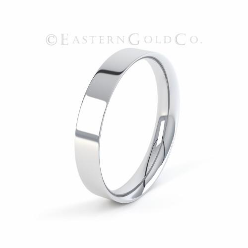 Silver Wedding Ring Mens