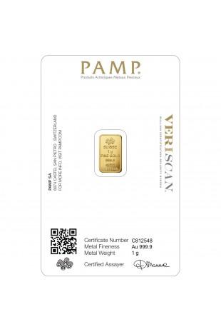 PAMP 1g Fortuna Gold...