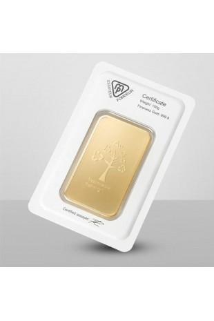Metalor 100g Minted Gold Bar