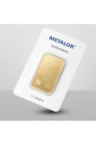 Metalor 1oz Minted Gold Bar