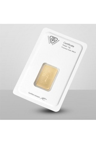 Metalor 10g Minted Gold Bar