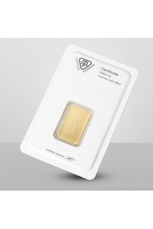 Metalor 5g Minted Gold Bar