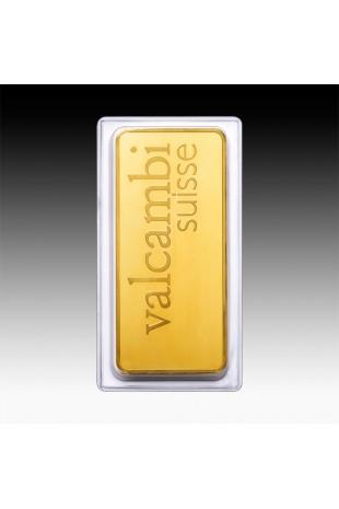 Valcambi 500g Minted Gold Bar