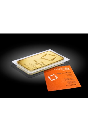 Valcambi 250g Minted Gold Bar