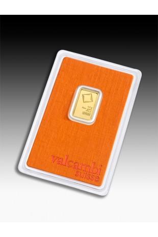 Valcambi 2.5g Minted Gold Bar