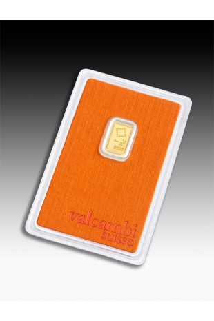 Valcambi 1g Minted Gold Bar