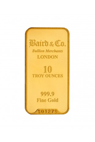 Baird & Co 10oz Gold Minted...
