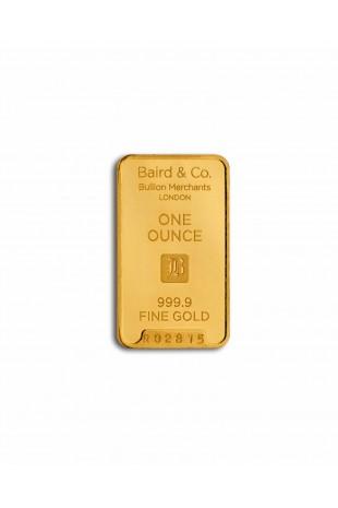 Baird & Co 1oz Gold Minted Bar