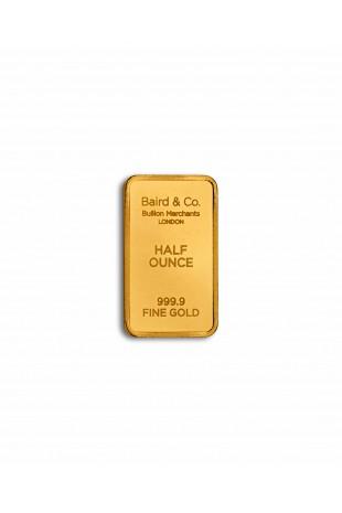 Baird & Co 1/2oz Gold...