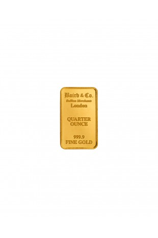 Baird & Co 1/4oz Gold...