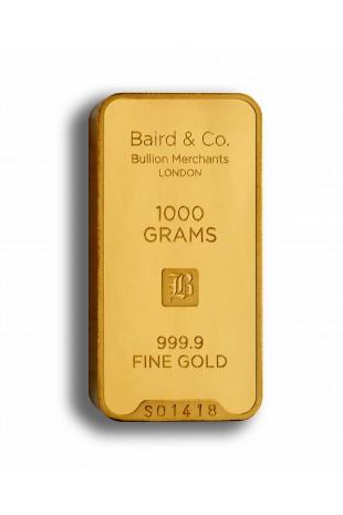 Baird & Co 1KG Gold Minted Bar