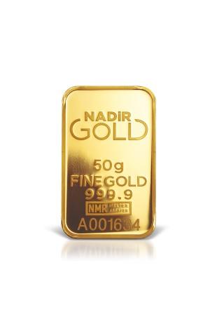 Nadir Metal 50g Minted Gold...