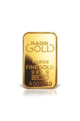 Nadir Metal 1oz Minted Gold...