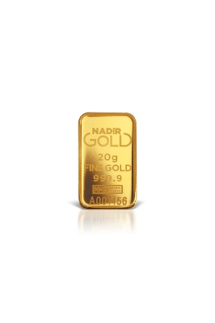 Nadir Metal 20g Minted Gold...