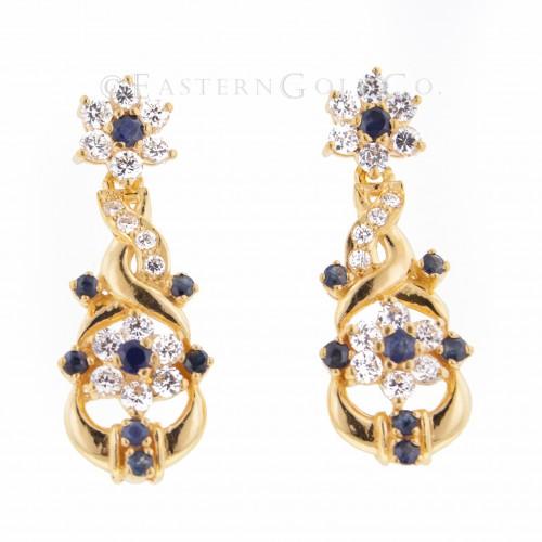 22ct Gold Ladies Earrings