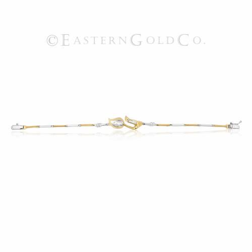 22ct Gold Ladies Wrist Bracelet