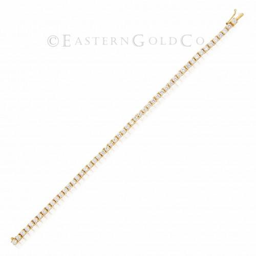 18ct Gold Ladies Wrist Bracelet