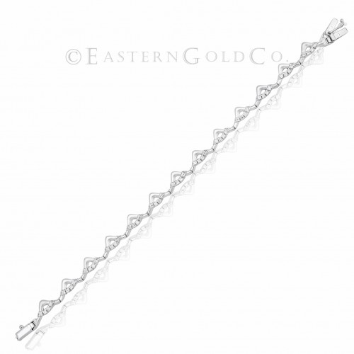 18ct Gold Ladies Wrist Bracelet