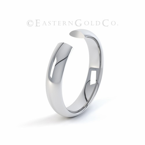 Platinum 950 Wedding Ring Mens