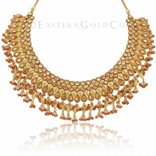 22ct Gold Ladies Necklace set
