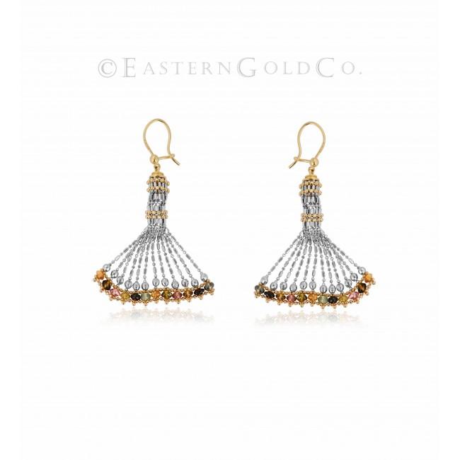 18ct Gold Ladies Necklace set