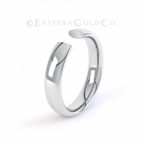 Platinum 950 Wedding Ring Mens & Ladies